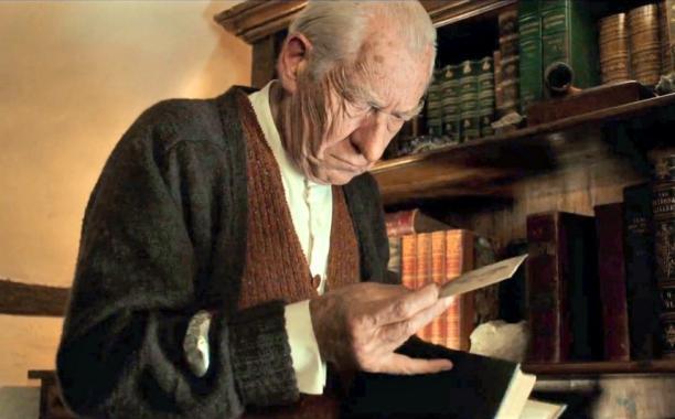 Sir Ian McKellen as Sherlock Holmes in Mr. Holmes