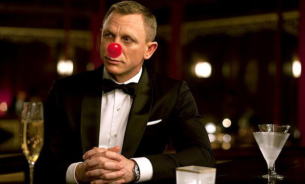 Daniel Craig takes Comic Relief viewers behind the scenes of Spectre