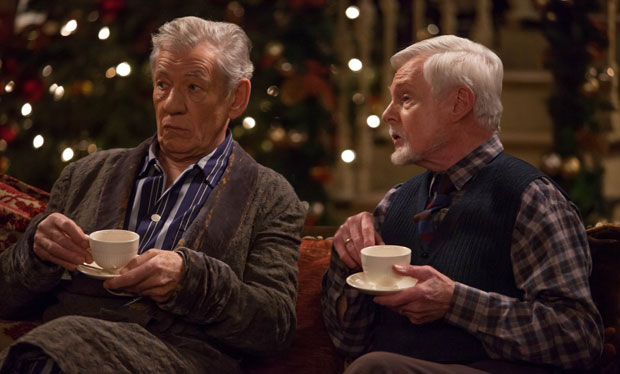 Sir Ian McKellen and Sir Derek Jacobi are Vicious