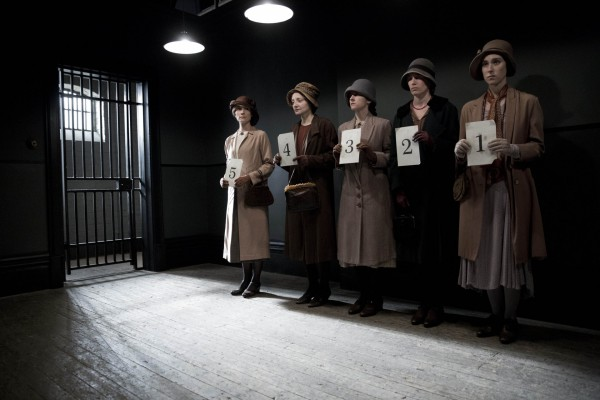 Anna Bates heads to prison in Downton Abbey