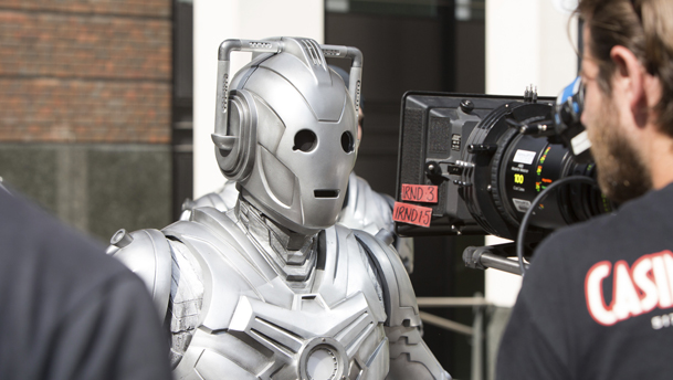 BTS with Doctor Who