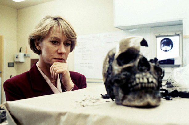 Helen Mirren as DCI Jane Tennison in Prime Suspect