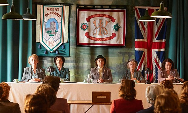 ITV's Home Fires follows the Great Paxton Women's Institute