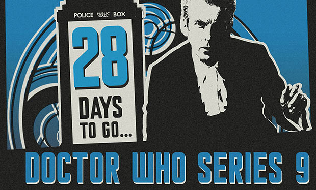 T-minus 28 days and counting to Doctor Who 9!