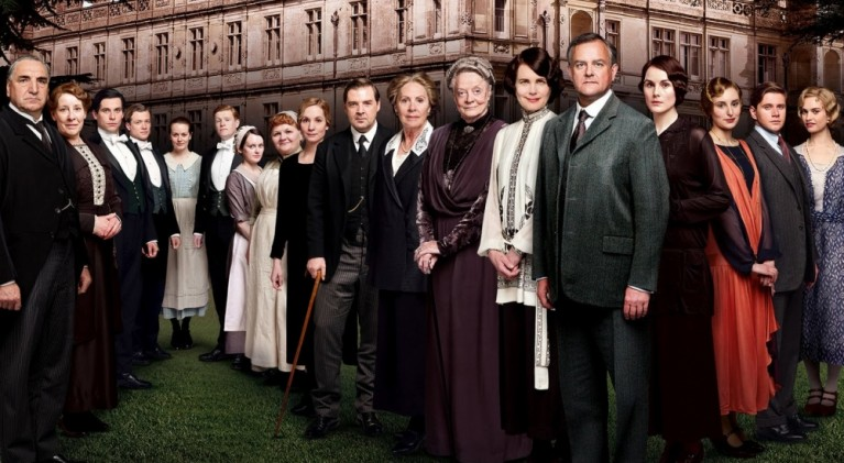 Downton Abbey series 6 cast photo
