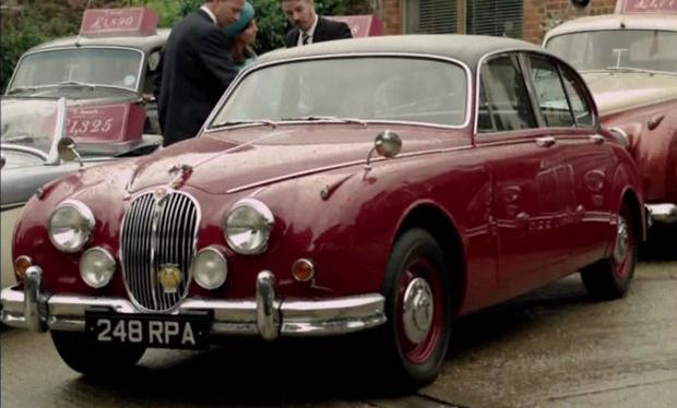 Inspector Morse's Jag