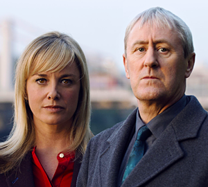 Tamzin Outhwaite and Nicholas Lyndhurst in New Tricks