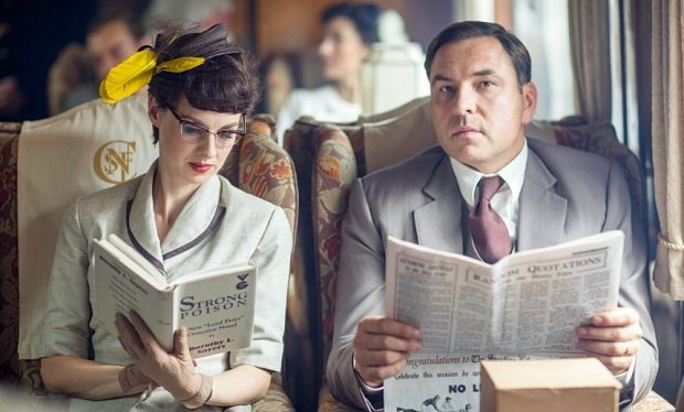 David Walliams and Jessica Raine star in Agatha Christie drama Partners in Crime