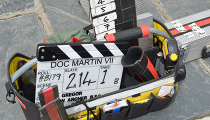Doc Martin 7 clapperboard_bill