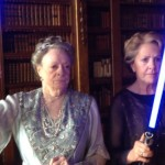 Finally! More people from Downton with light sabers in 'Downton Wars: The Evil Butler Strikes Back'!