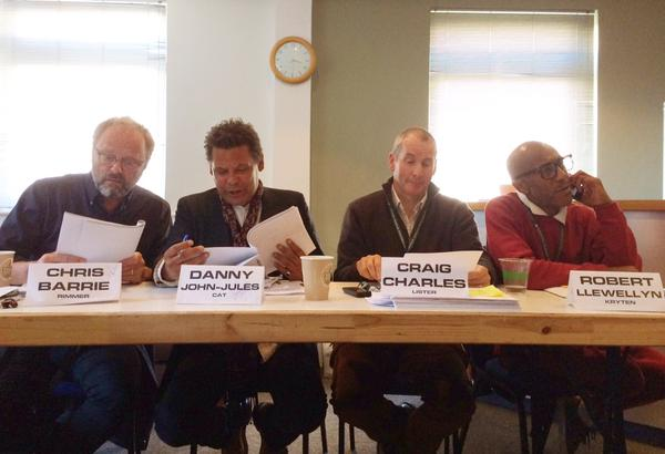 Red Dwarf XI read through get together