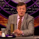 Stephen Fry passes the 'QI' mantle at the alphabet's halfway point