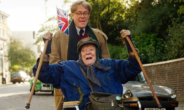 Dame Maggie Smith is The Lady in the Van