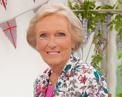 WARNING: Embargoed for publication until: 29/07/2014 - Programme Name: The Great British Bake Off - TX: n/a - Episode: n/a (No. 1) - Picture Shows: Mary Berry - (C) Love Productions - Photographer: Mark Bourdillon
