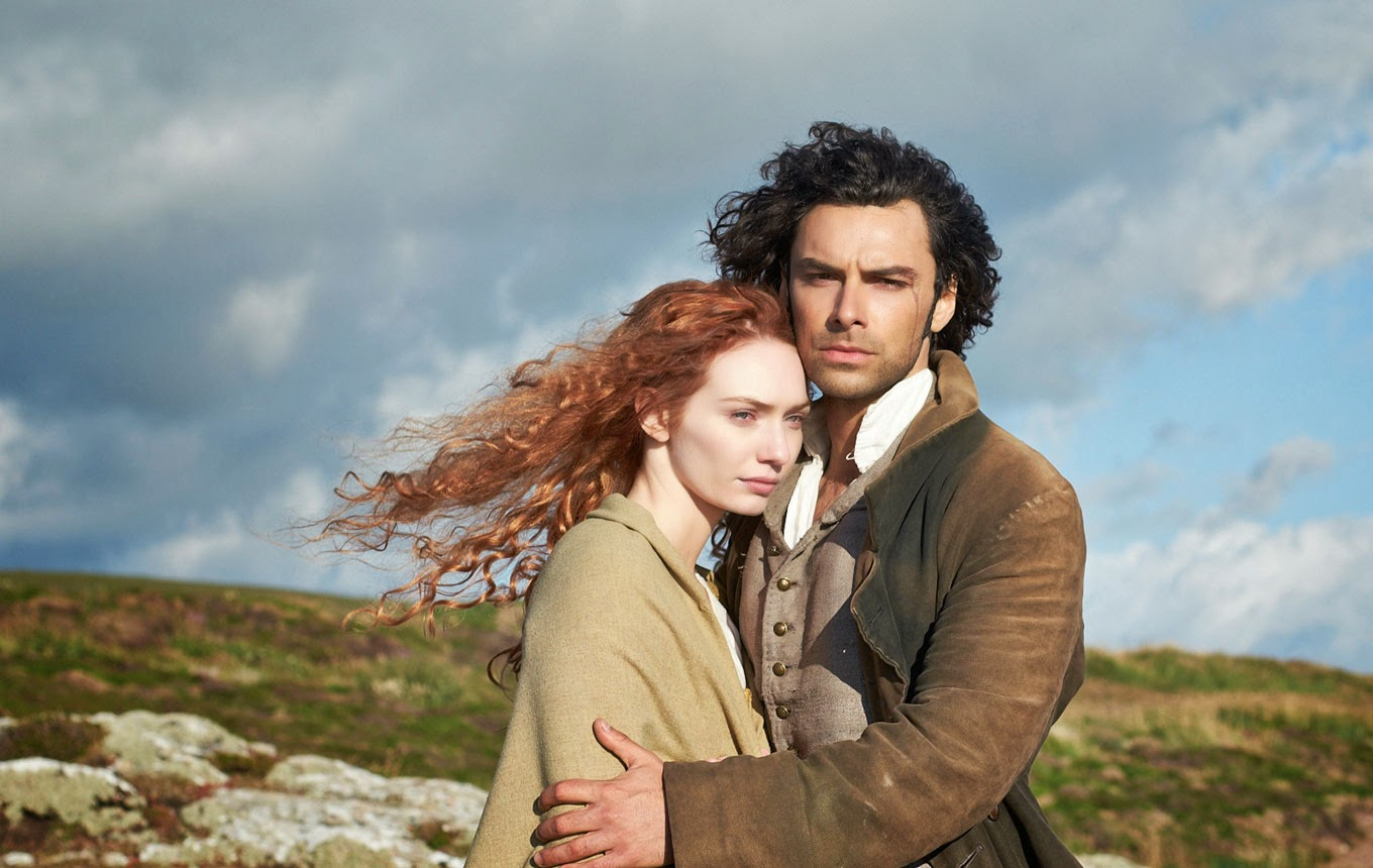 Captain Ross Poldark and Demelza