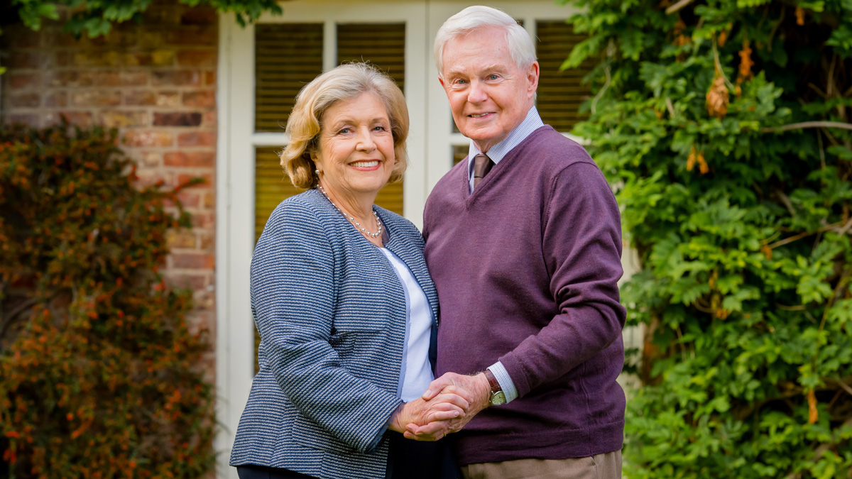 Celia and Alan in Last Tango in Halifax