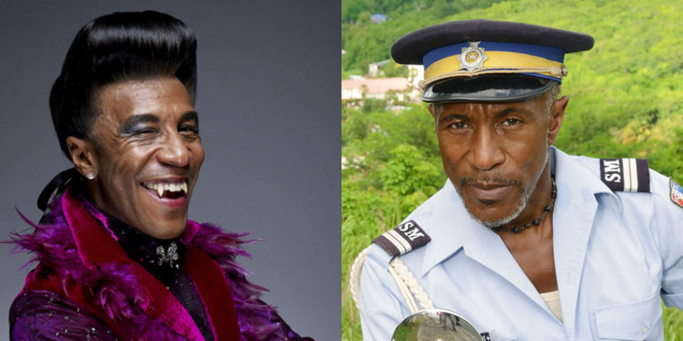 Danny John-Jules suggests a Red Dwarf Death in Paradise crossover