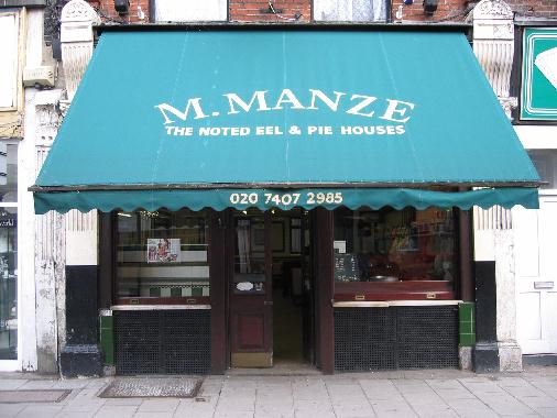 M.Manze Tower Bridge Road