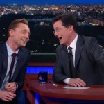 Tom Hiddleston and Stephen Colbert 'See the Light'