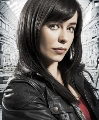 Eve Myles at WhoFest3 DFW