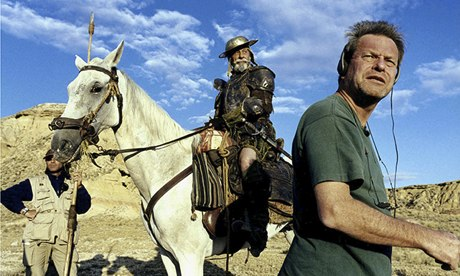 Terry Gilliam filming Don Quixote
