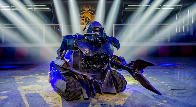 Programme Name: Robot Wars - TX: n/a - Episode: n/a (No. n/a) - Picture Shows: House Robot Sir Killalot - (C) Mentorn Media Scotland - Photographer: Alan Peebles