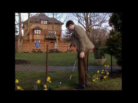 Mr Bean Tees Off