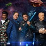 Official pics released of getting the 'Red Dwarf' band back together for RDXI