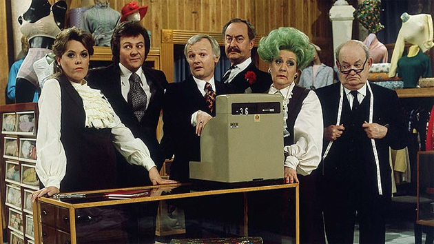 Are you Being Served original cast