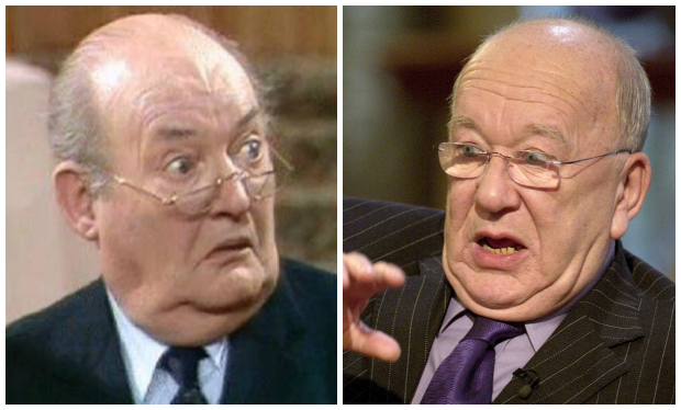 Roy Barraclough as Mr. Grainger