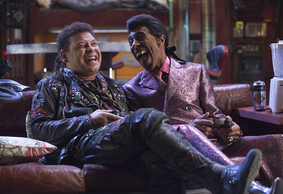 Craig Charles and Danny John-Jules enjoy life on Red Dwarf