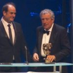 Terry Jones tearfully receives 2016 Bafta Award