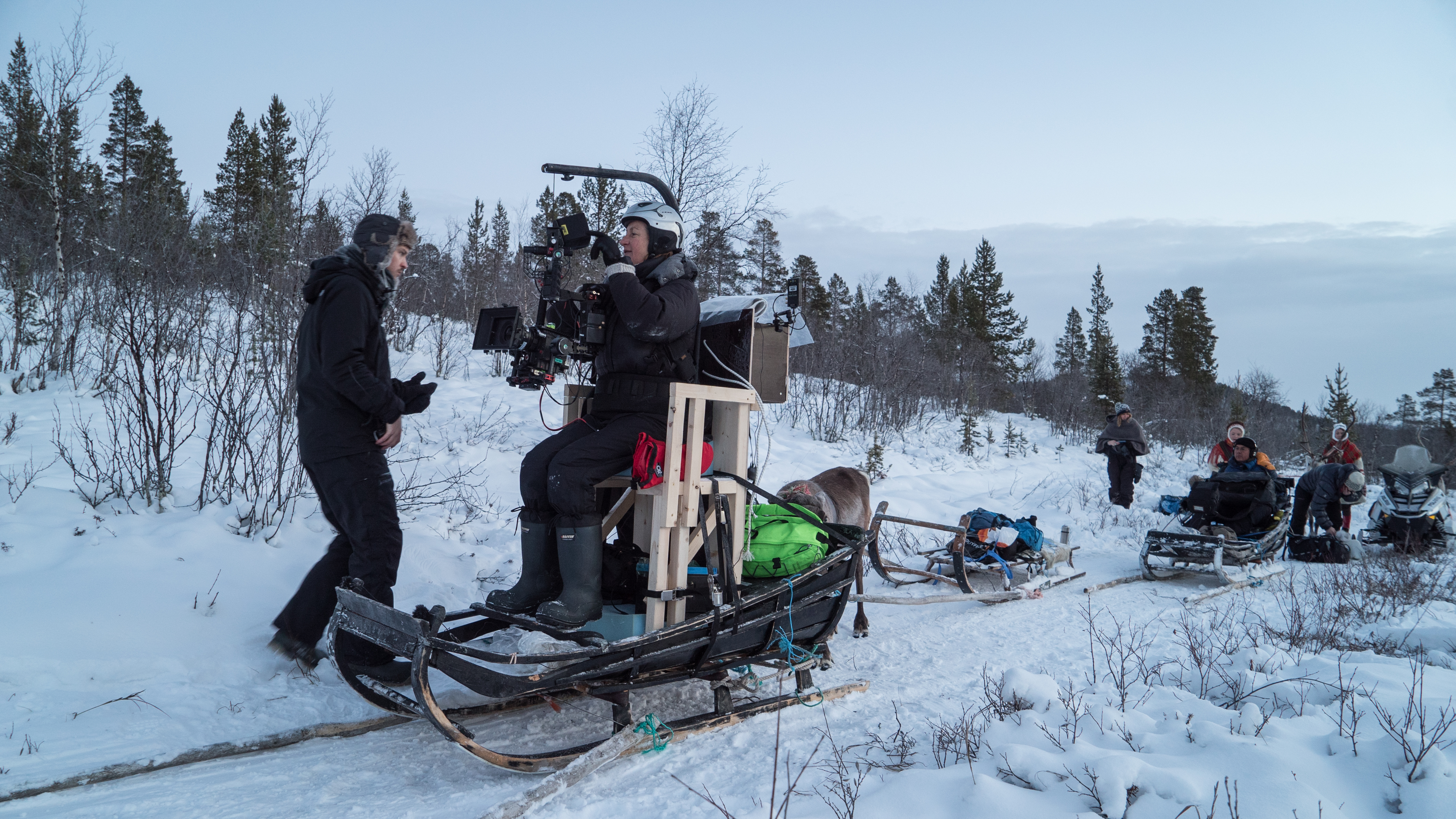 filming-all-aboard-the-sleigh-ride