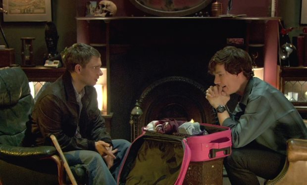 Sherlock A Study In Pink, with Benedict Cumberbatch and Martin Freeman