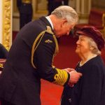 Dame Hyacinth honored at Buckingham Palace