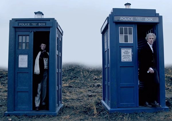 """The Twelfth Doctor comes face to face with the past in """"Twice Upon a Time"""" this Christmas"""