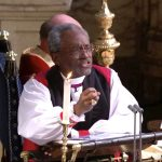 Bishop Michael Curry captured the world's attention at Saturday's Royal Wedding