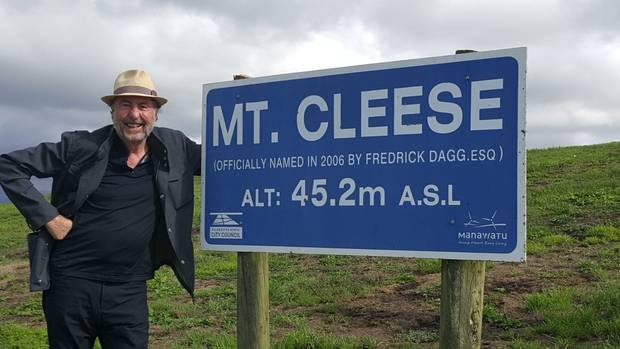 New Zealand's  Mt. Cleese probably not on anyone's climbing bucket list, except maybe one.