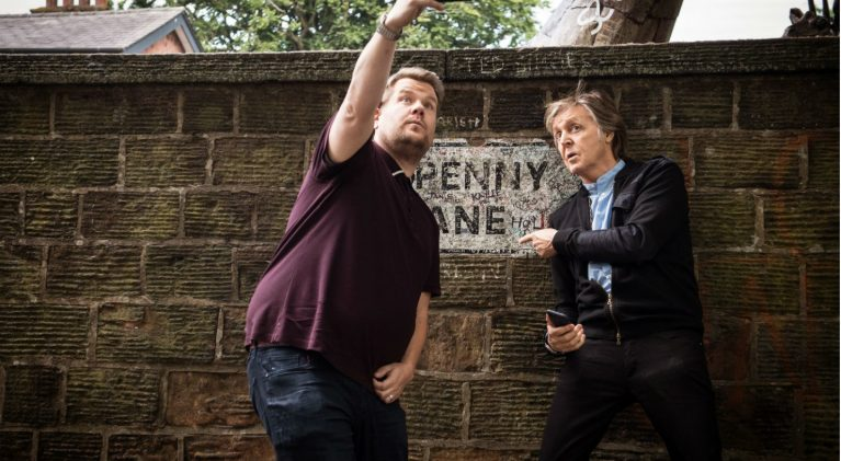 Sir Paul McCartney rocks 'Carpool Karaoke with James Corden'