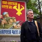 Michael Palin adds North Korea stamp to a fully-booked passport for new travel series
