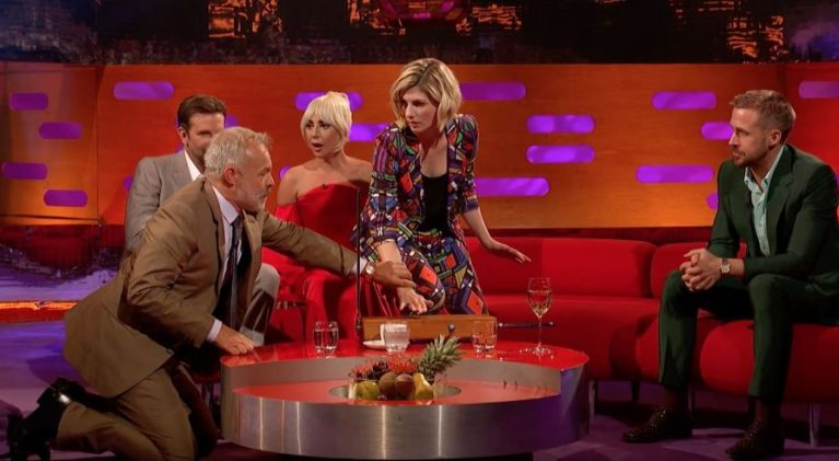 Jodie Whittaker, noted thereminist, nails the 'Doctor Who' theme on 'The Graham Norton Show'