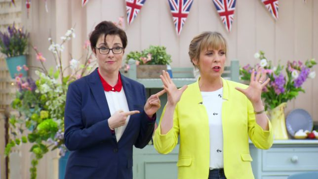 Great British Bake-Off's Mel and Sue head back to comedy roots