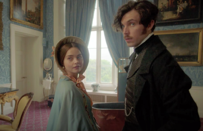 Jenna Coleman and Tom Hughes star in series 3 of Victoria