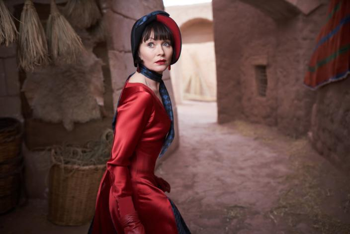 Essie Davis as The Hon. Phryne Fisher (Photo Credit: Every Cloud Productions/Ben King)