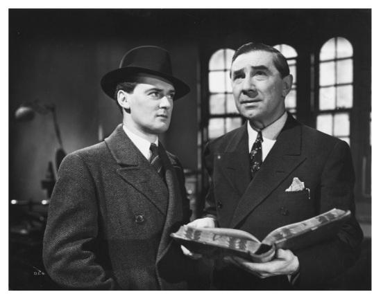 Hugh Williams and Bela Lugosi in Dark Eyes of London