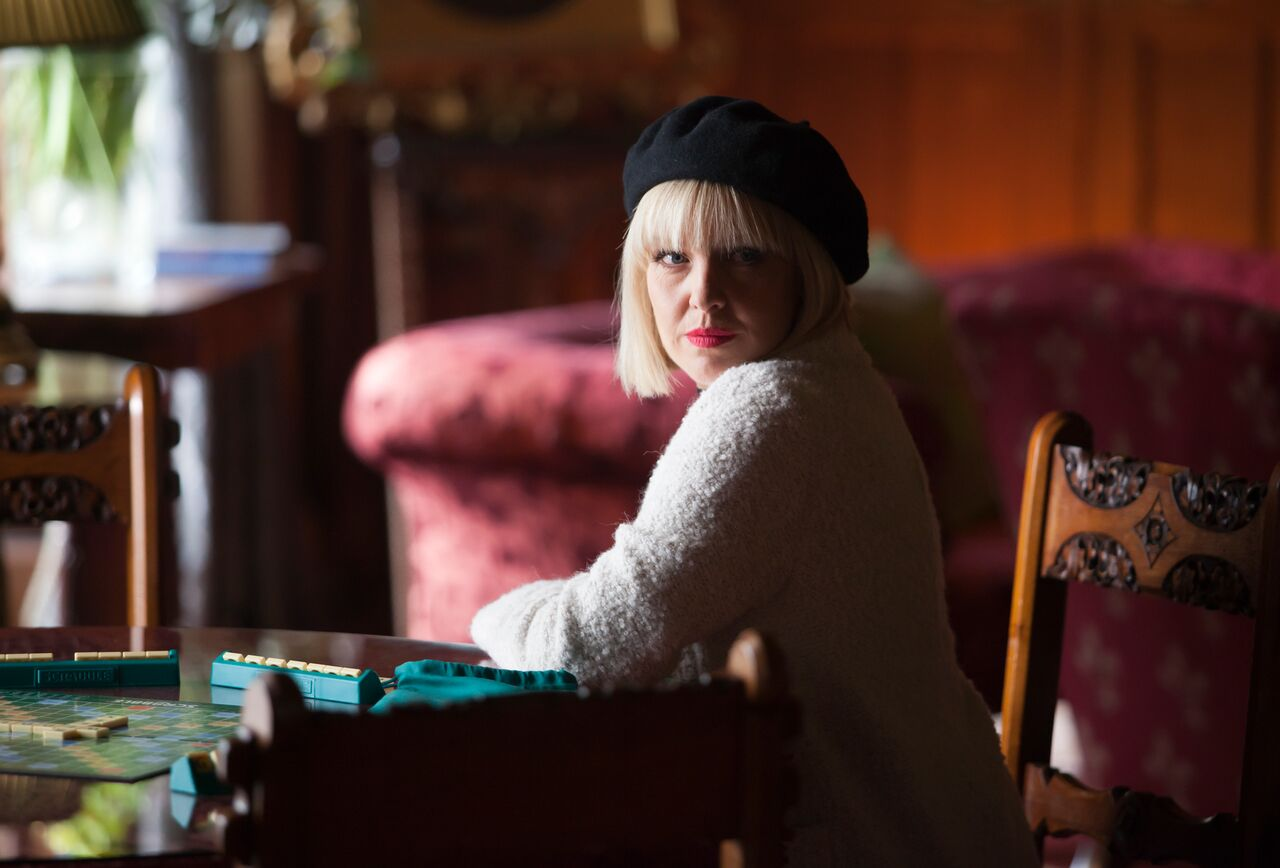 Ashley Jensen as Agatha Raisin / Acorn TV