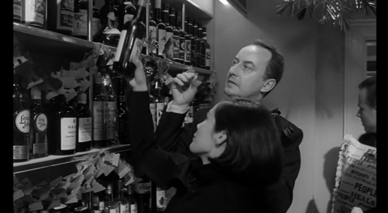 From the Vault: Frank Thornton supplies the wine in 'The Wild Affair'
