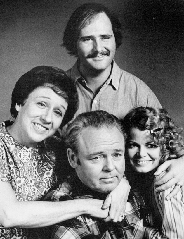 Sally Struthers as Gloria (Bunker) Stivic in 'All in the Family,' bottom right