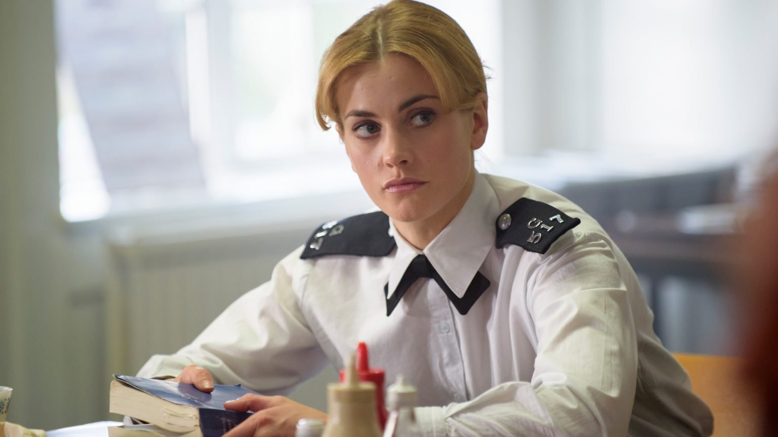Stefanie Martini as the young Jane Tennison. / Courtesy: ITV