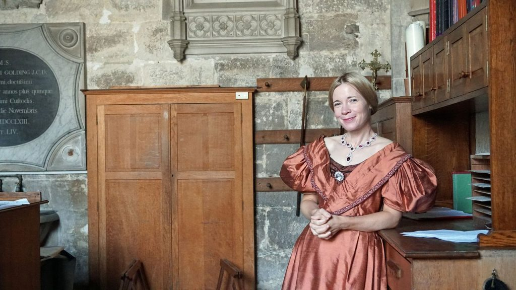 Lucy Worsley, presenter of 'Victoria & Albert: The Wedding'